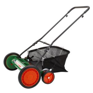 I make noises so my lawn mower doesn't feel inadequate when it hears the ruckus that other types of lawn mowers make. (Photo Credit: homedepot.com)