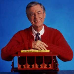Mr. Rogers, it's probably best if we aren't neighbours. I'd feel poorly about flashing you.  (Photo Credit: snappynewday.com)