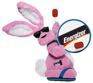 Natalie and this guy once had a race, the Energizer Bunny lost and had to go to rehab because he started using meth to cover the pain of his disappointment. (Photo Credit aylmerrunner.wordpress.com)