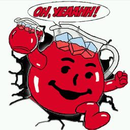 A photo of the Kool-Aid man crashing through a wall to celebrate his latest homicide. Photo Credit: Onetimefortim.wordpress.com